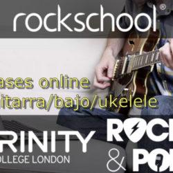Clases online de guitarra/bajo/ukelele